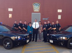 Personnel of the Farmington Police Department