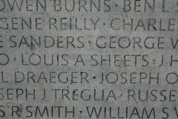 Names on the LEO Memorial Washington DC -by Drury